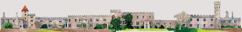 Lismore Castle interior panorama