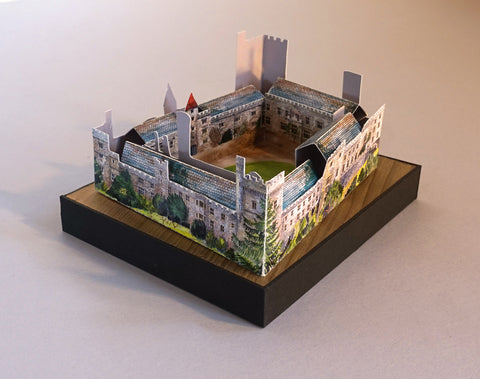 Model of Lismore Castle