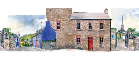 Collage of the Old Barracks, Rosscarbery