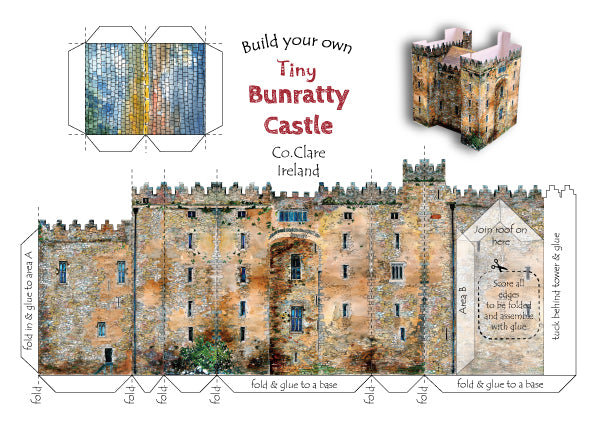 Build your own tiny Bunratty Castle