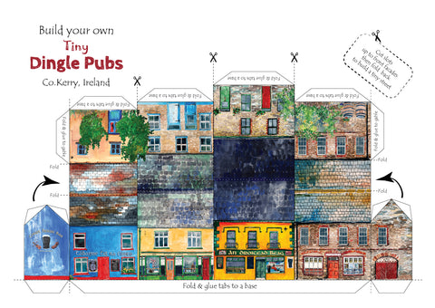 Build your own tiny,tiny Dingle Pubs