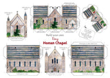 Build Your own tiny Honan Chapel