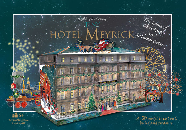 Build your own tiny Hotel Meyrick (Christmas Edition!)