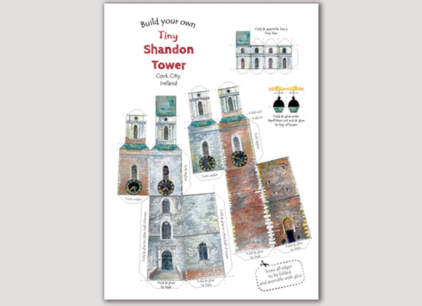 Build your own tiny,tiny Shandon Tower