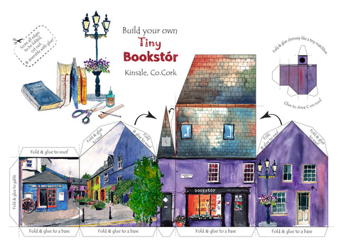 Build your own tiny Bookstór