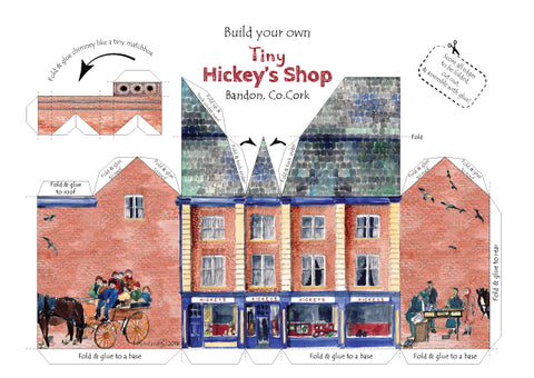 Build your own tiny Hickey's Shop