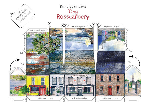 Build your own tiny,tiny Rosscarbery (North side of square)