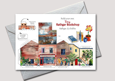 Build your own Tiny Rathgar Bookshop