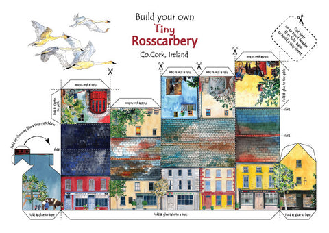 Build your own tiny,tiny Rosscarbery (South side of square)
