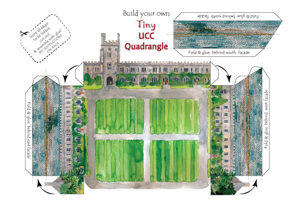 Build your own tiny UCC Quadrangle
