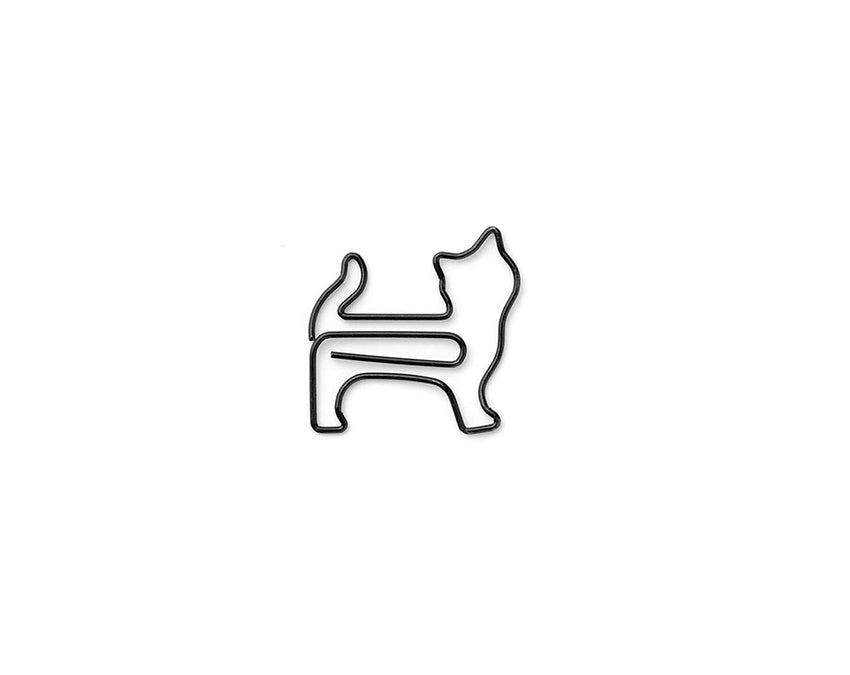 Standing Cat Paper Clips