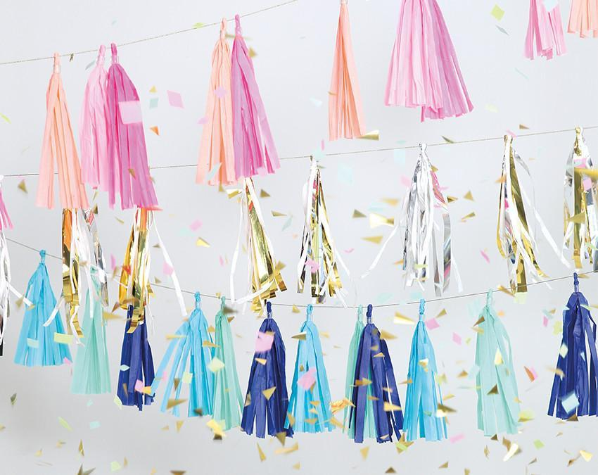 Party Tassels — Pastel