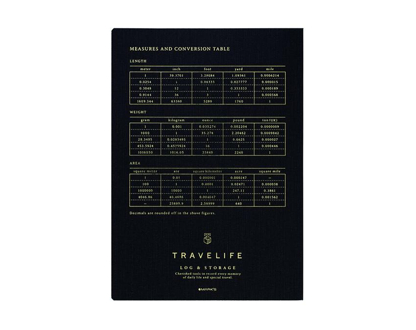 Travel Life Ruled Notebook