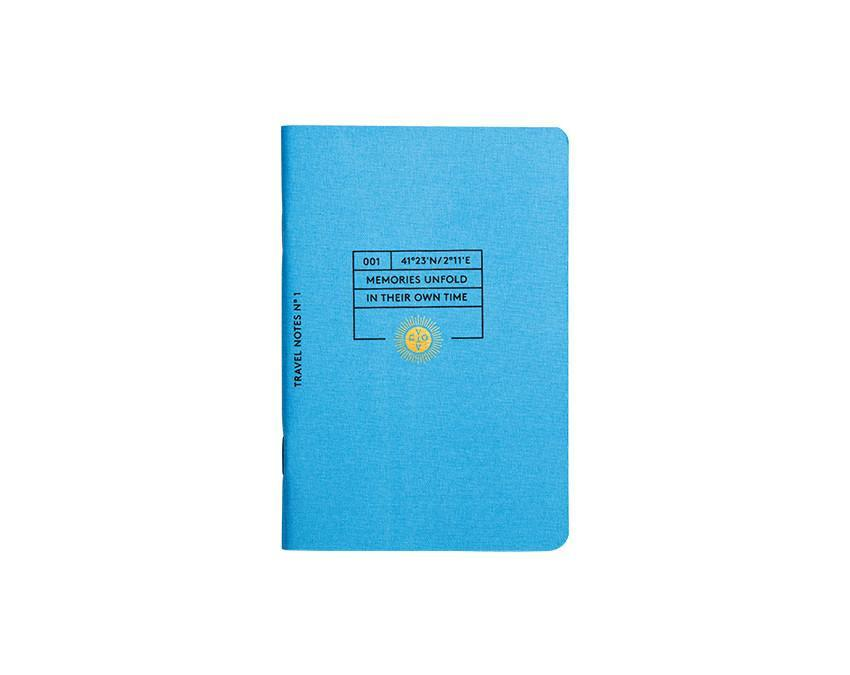 Travel Notes Gold Notebook Set