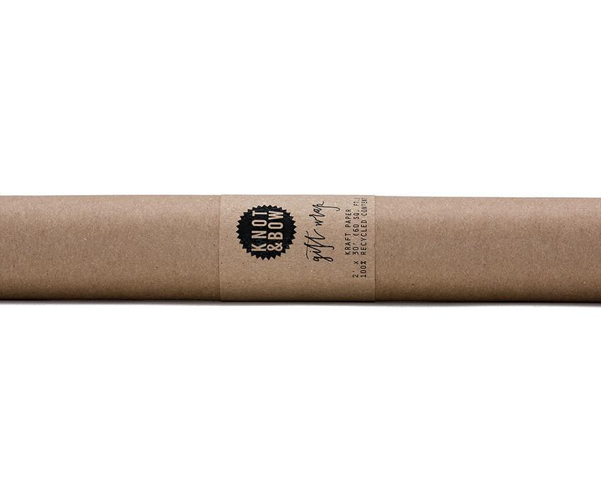 Kraft eco friendly wrapping paper at onceuponaflutter.com