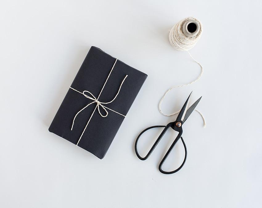 Wrapping Paper — Chalkboard