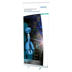 banner roll up stand  80cm x 200cm