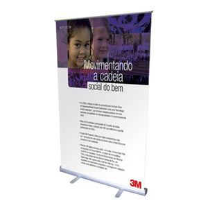 comprar banner roll up 140 cm x 200