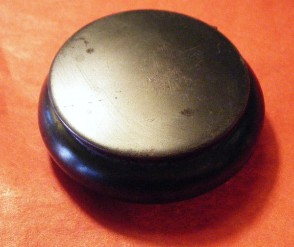 Victorian GUN METAL  Powder box/ pill box/ patch box
