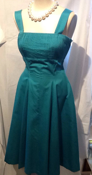 50's Turquoise Sexy Sun Dress