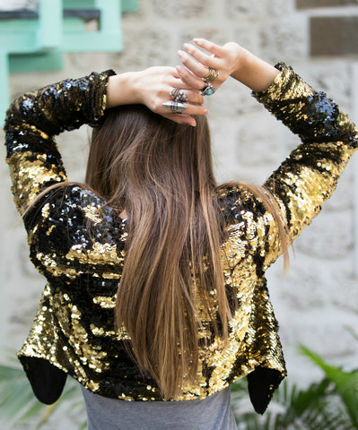 Gold Dust Sequin Jacket