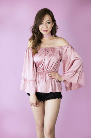 Love Me Tender Off-shoulder Top