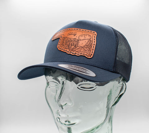 Leather Patch Trucker Hat Collection