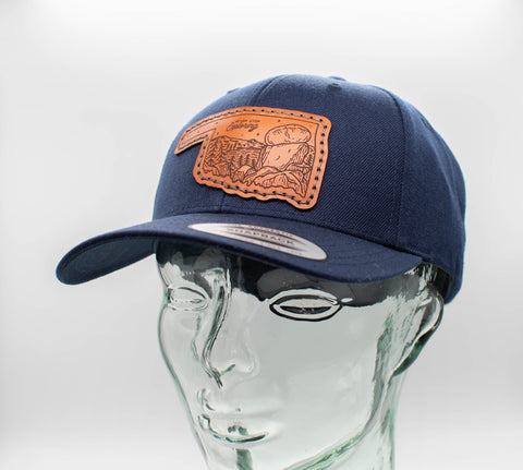 Leather Patch Ball Cap Collection
