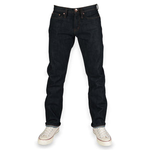 Unbranded Brand  UB201 Tapered Fit 14.5oz Indigo Selvedge
