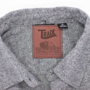 TRADE Flannel Shirt - Heather Grey
