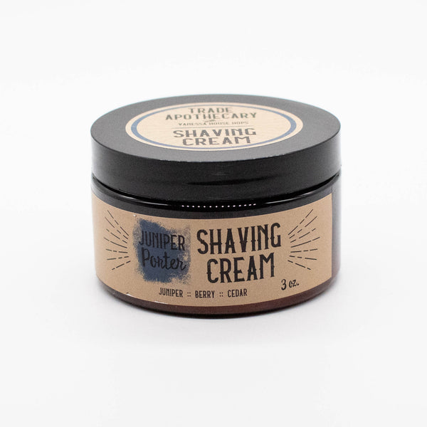 Juniper Porter Hops Shave Cream