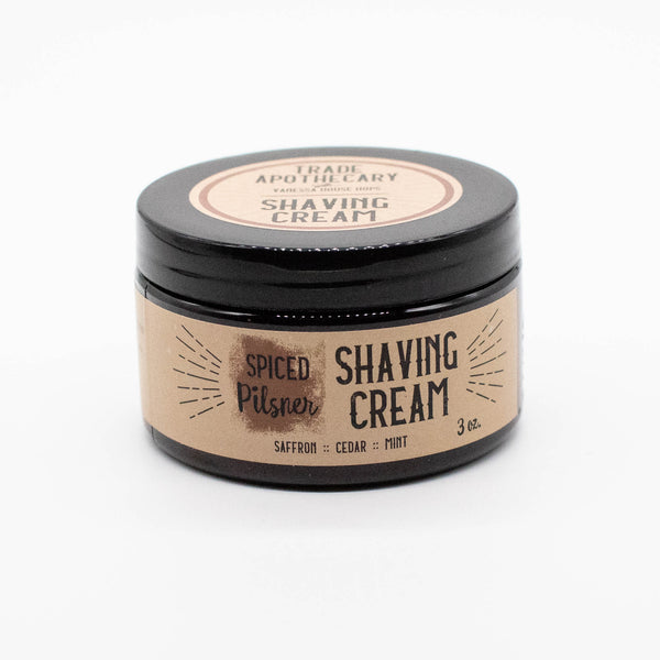 Spiced Pilsner Hops Shave Cream