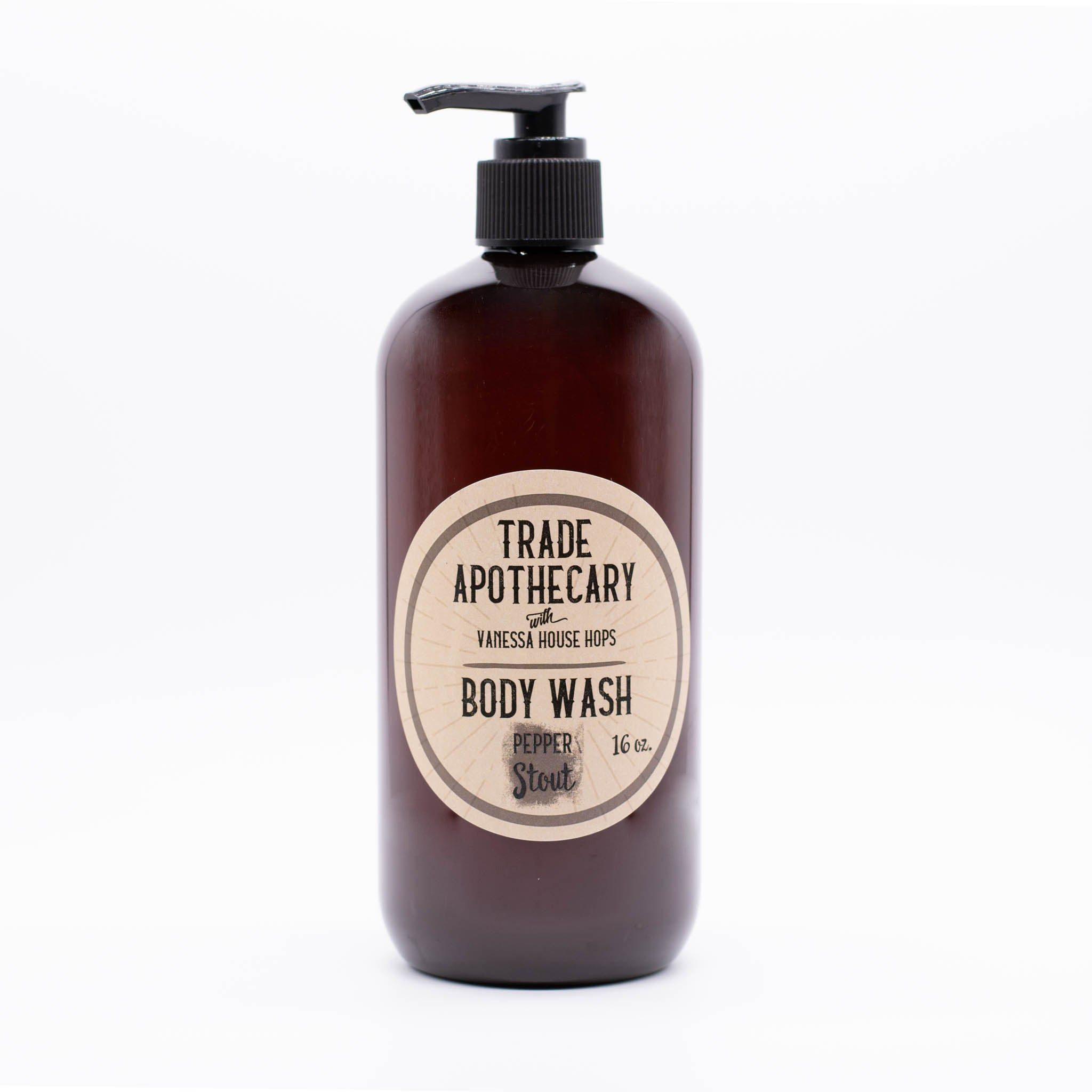 Pepper Stout Body Wash