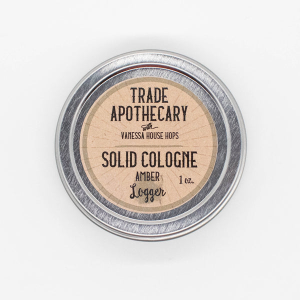 Amber Logger Solid Cologne