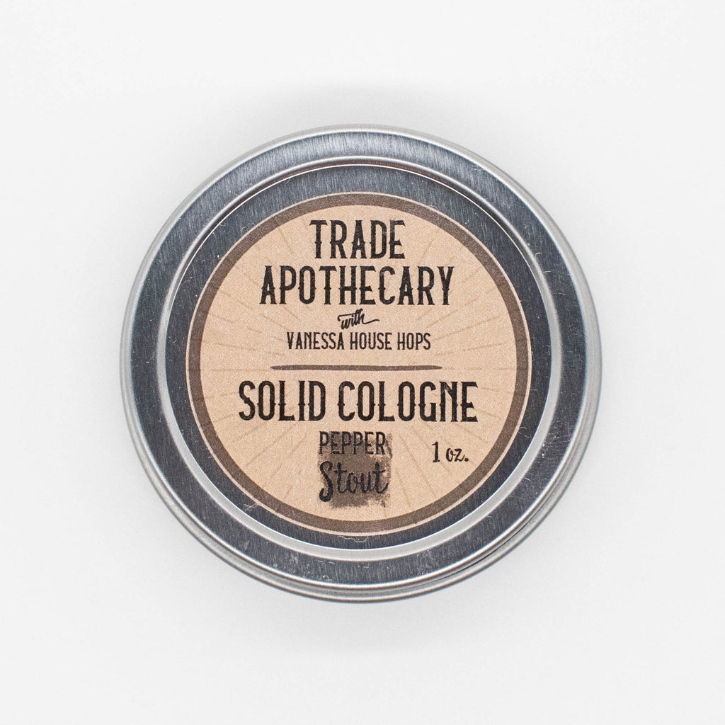 Pepper Stout Solid Cologne