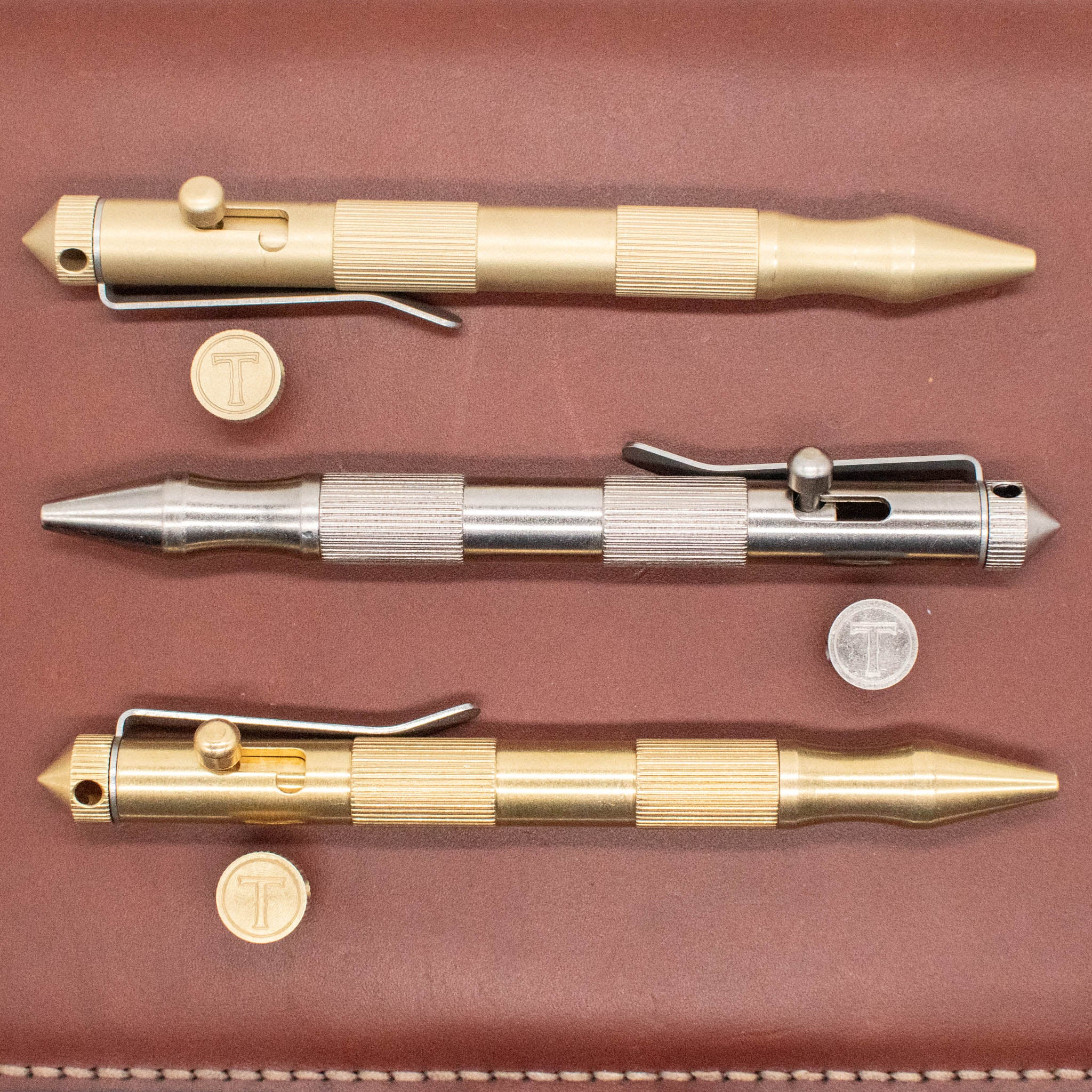 The Cutlass - Brass Bolt Action Pen