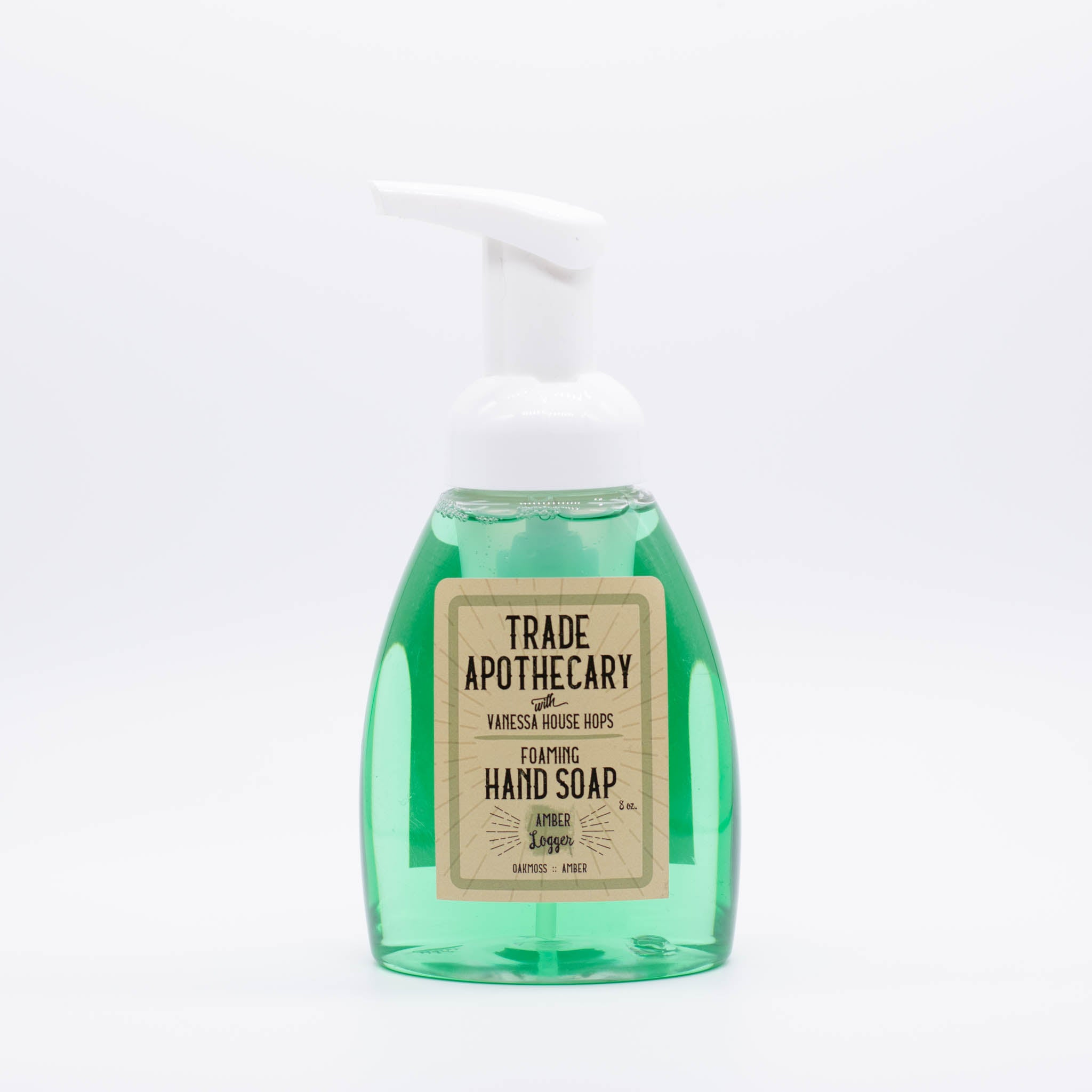 Amber Logger Foaming Hand Soap