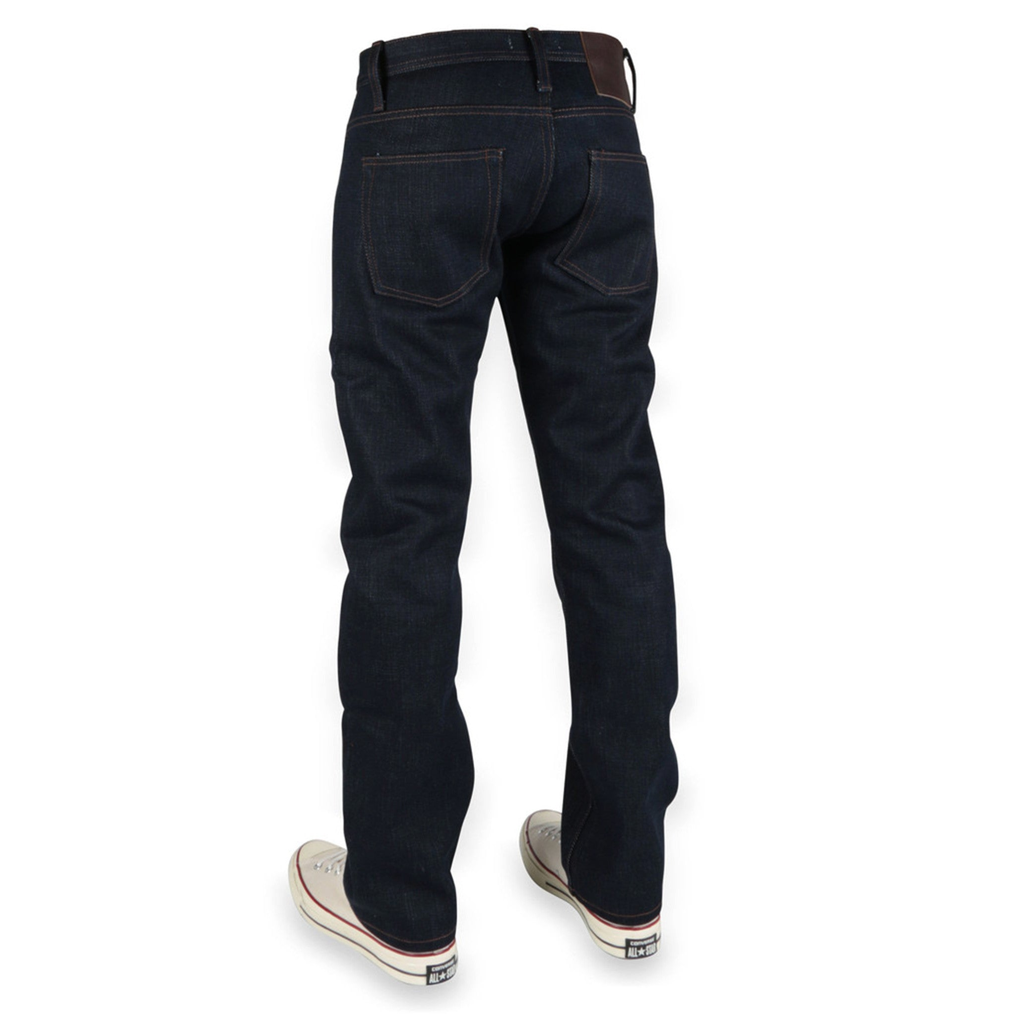 Unbranded Brand- UB321 Straight Fit Heavyweight 21oz Indigo Selvedge