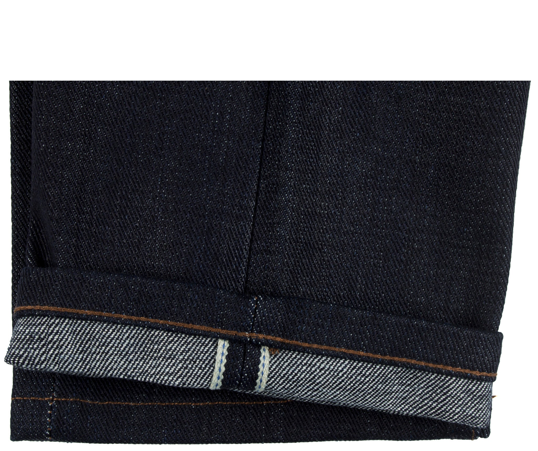 Unbranded Brand- UB221 Tapered Fit Heavyweight 21oz Indigo Selvedge