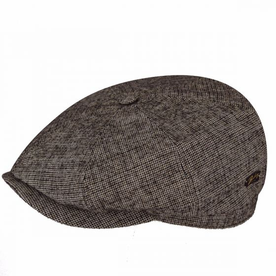 Bailey's - Rockburn (Brown Textured Houndstooth)