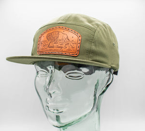 Tombstone Bison 7 Panel Camp Hat