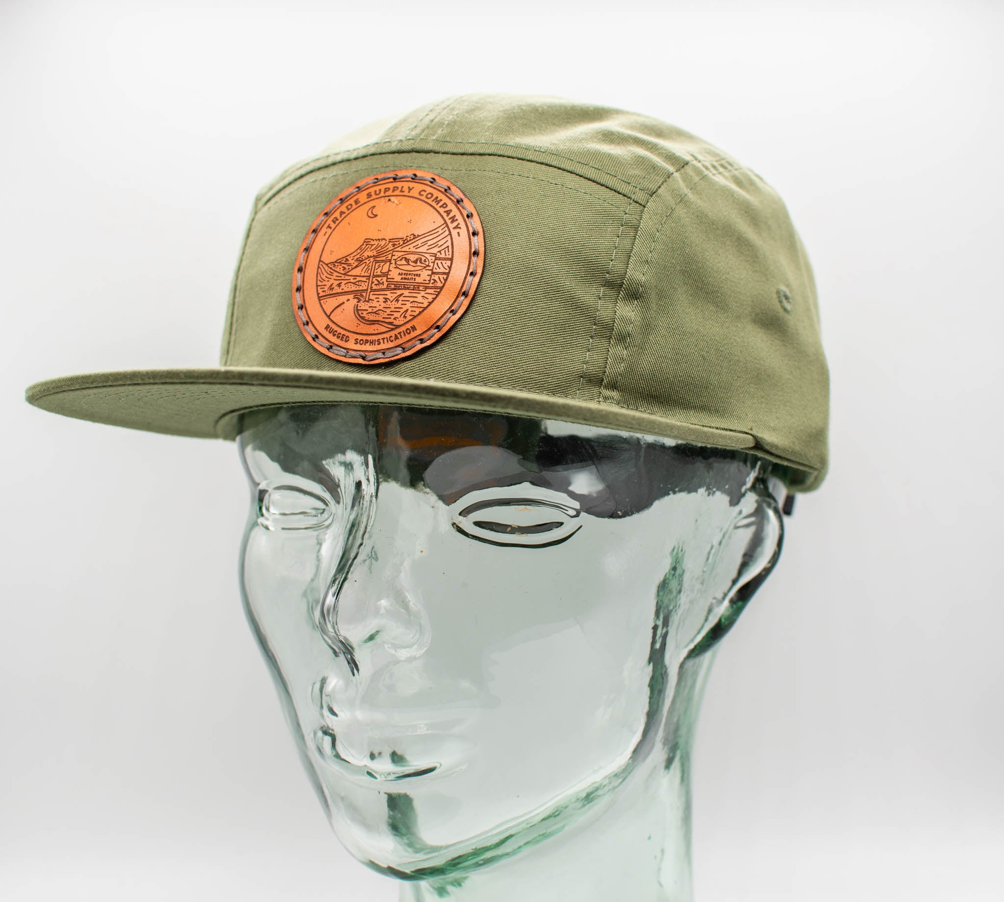 Adventure Awaits 5 Panel Camp Hat