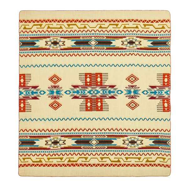 Antisana Earth Southwestern Blanket by Ecuadane