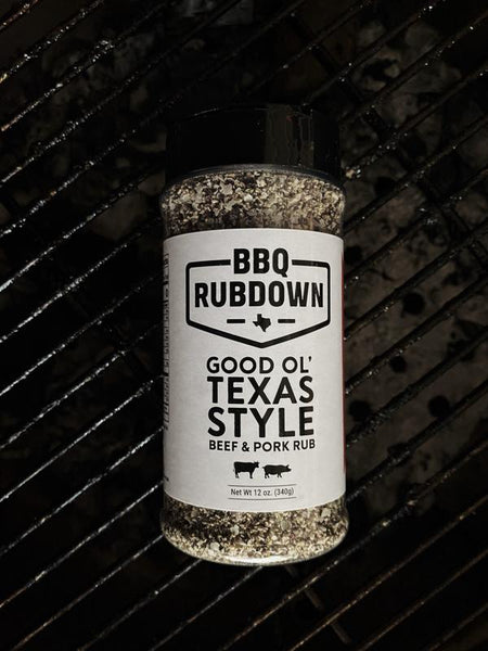 BBQ Rubdown -Good Ol' Texas Style Beef & Pork Rub