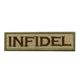 Infidel Embroidery Tactical Morale Patch - 1PC - strapcrafts