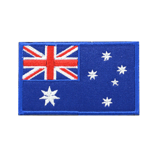 Tactical Embroidery Australia Flag Patch 1PC