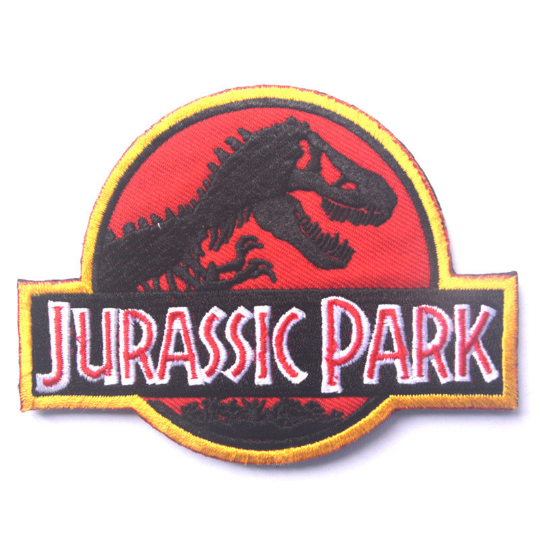 Embroidery Jurassic Park Tactical Patch -1PC - strapcrafts
