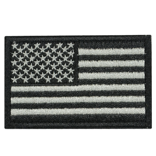 Tactical Embroidery USA Flag Patch-1PC - strapcrafts