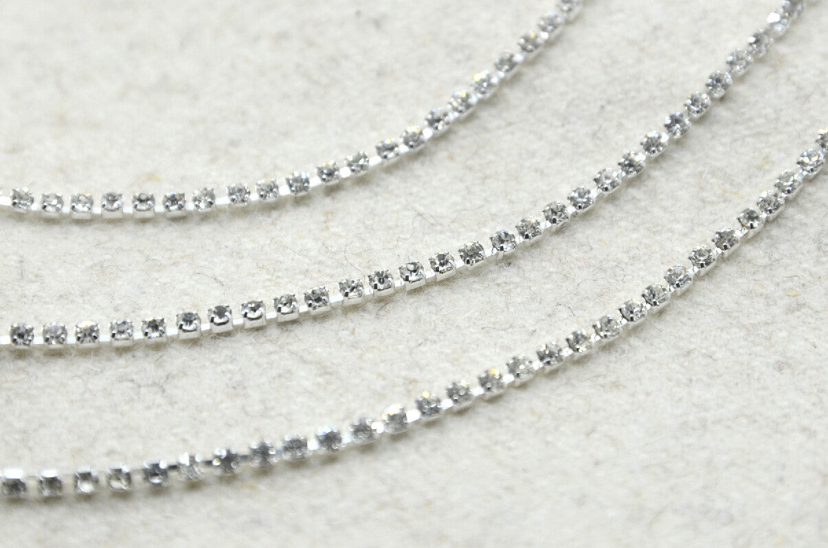 jewelry sweet products vintage weiss rhinestone simple spark necklace collections