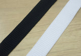 1 1/8 inch ( 28.5mm) Patterned Plush Comfortable Stretch Elastic Band - strapcrafts